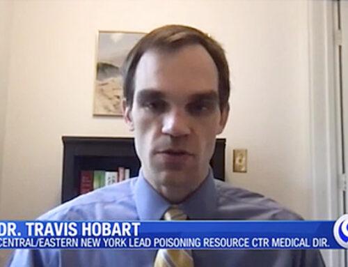 Dr. Travis Hobart Discusses Lead Screening During Pandemic